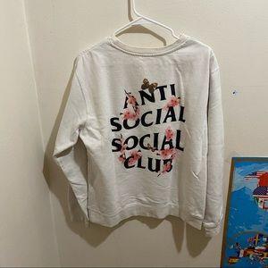 Anti Social Social Club Cherry Blossoms Crewneck